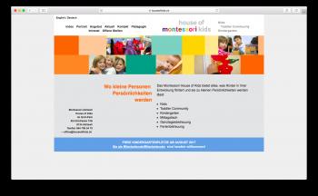 Montessori Adliswil House of Kids